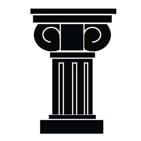 Classic Column Vector Art
