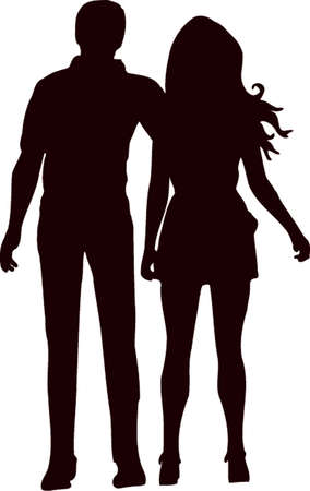 Couple Silhouette 8