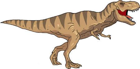T-Rex illustration. Illustration