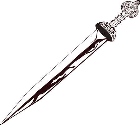 Vector - Roman Sword Gladius
