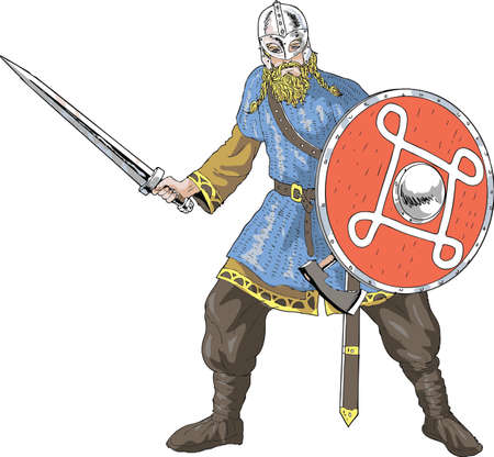Vector - Viking Warrior