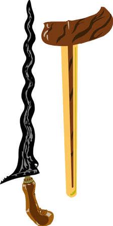 Vector - Keris Sengkelat Blade