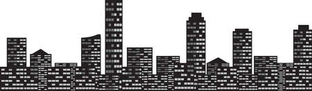 Vector - Cityscape City Skyline Illustration
