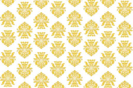 Vector - Ornate Arabesque Pattern Illustration Illustration