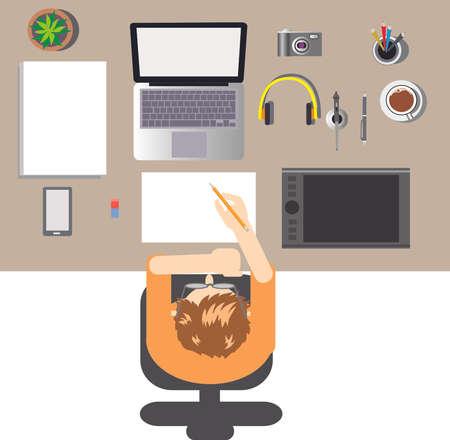 Vector - Graphic Designer Desktop