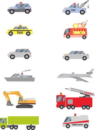 Vector - Transportation Vehicles