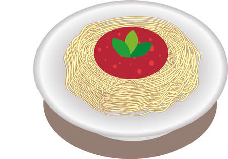 Vector - Spaghetti Pasta