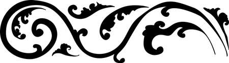 decorative design 14 ,Vintage  frame border tattoo floral ornament leaf scroll engraved retro flower pattern tattoo black and white filigree calligraphic vector heraldic swirl -Vector
