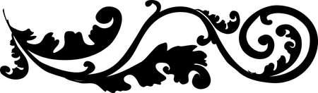 decorative design 15 ,Vintage  frame border tattoo floral ornament leaf scroll engraved retro flower pattern tattoo black and white filigree calligraphic vector heraldic swirl -Vector
