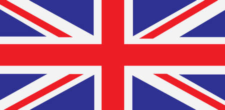 British union jack flag , United kingdom symbol , UK Band - Vector