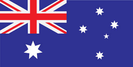 Australian Flag , Ausie Band - Vector
