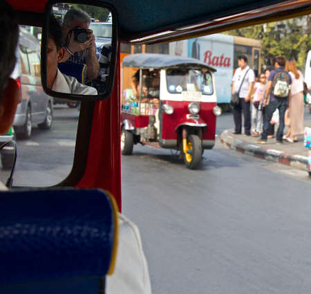 tuk: Tuk Tuk Taxi in Thaland