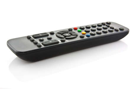TV remote control isolated on white Stock Photo - 11666002