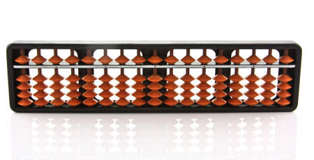 abacus isolated on a white background