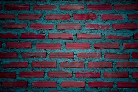 colorful brick wall photo