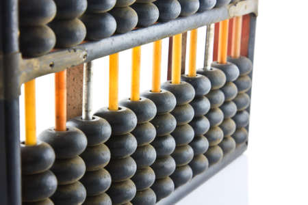 abacus isolated on a white background  photo