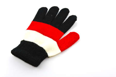 baby gloves isolated on white  Standard-Bild