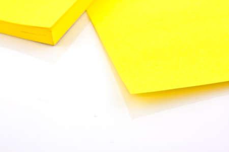 Yellow sticky note Stock Photo - 12921065