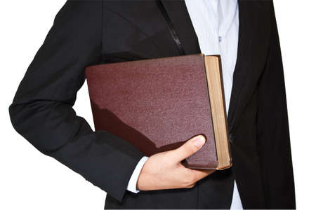 Businessman and diarybook Stock Photo - 13888869