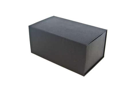 black box on white isolated