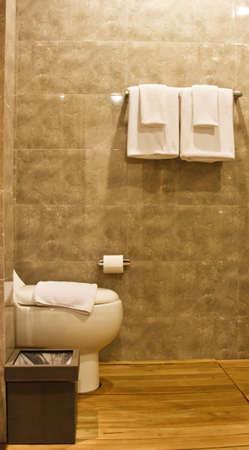 Toilet in the modern bathroom  Stock Photo - 16687486