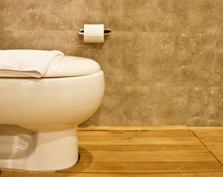 Toilet in the modern bathroom  Stock Photo - 16626978