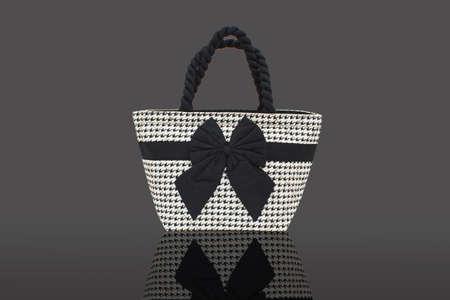 Luxury women bag set on isolated with path photo