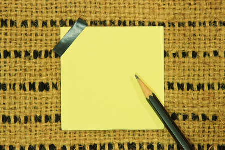 note paper: Note paper with idea background