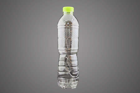 Plastic bottle of water isolated with path Stock Photo - 24316920