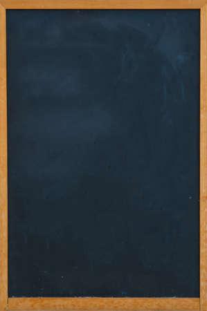Blank chalkboard in wooden frame Stock Photo - 25171303