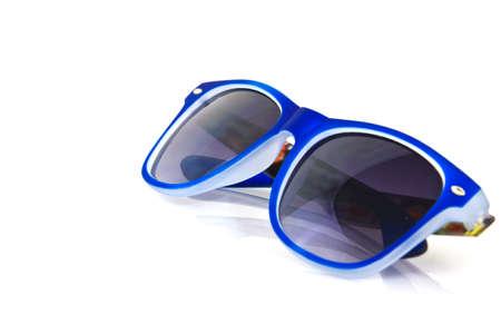 vintage retro sunglasses isolated on white