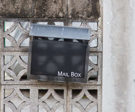 letterbox: beautiful vintage letter-box