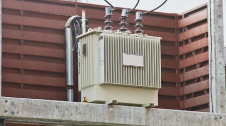 The Electric transformer Stock Photo - 27077750