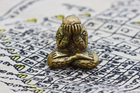 small buddha image used as amulets photo