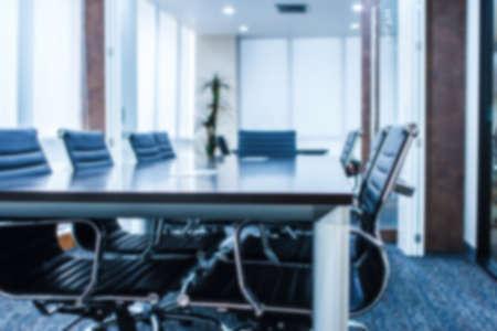 meeting room focus Blur background Stock Photo