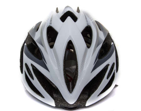 Bicycle road bike safety helmet isolated Stock Photo