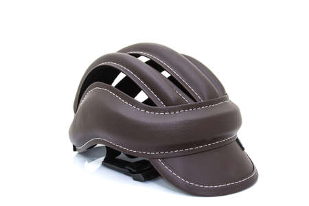 x country: Bicycle road bike safety helmet isolated Stock Photo