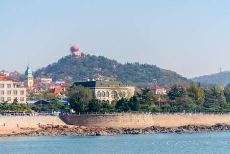 seaview: seaview of Qingdao Stock Photo