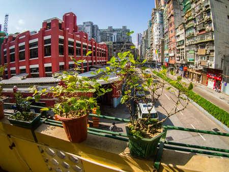 macau: street view of Macau