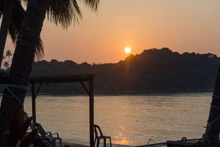 レダン島の日の出