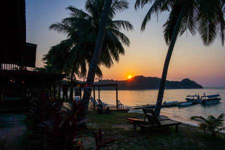 redang: sunrise in Redang Island