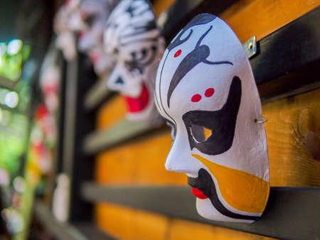 北京オペラのマスク