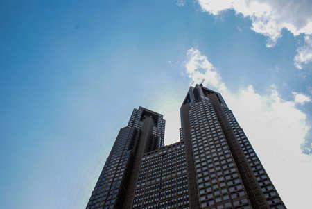 東京市の建物 報道画像