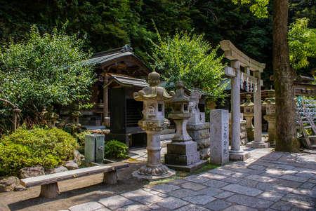 鎌倉で伝統的な神社