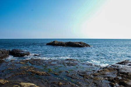 石のビーチ