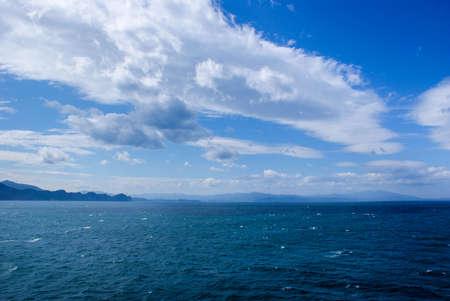 日本海 写真素材