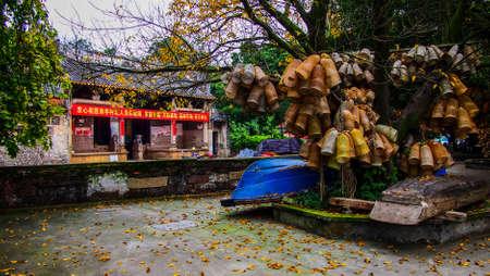 ting: Nan Ting Village Stock Photo