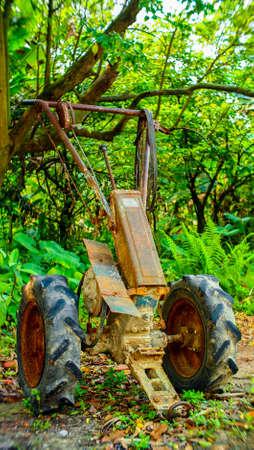 トラクター 写真素材