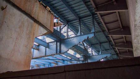 bottom: bottom of Haizhu bridge Stock Photo