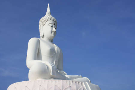 eligion: White Buddha Images Stock Photo